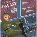 Star Wars Art: Posters - Cruse the Galaxy poster