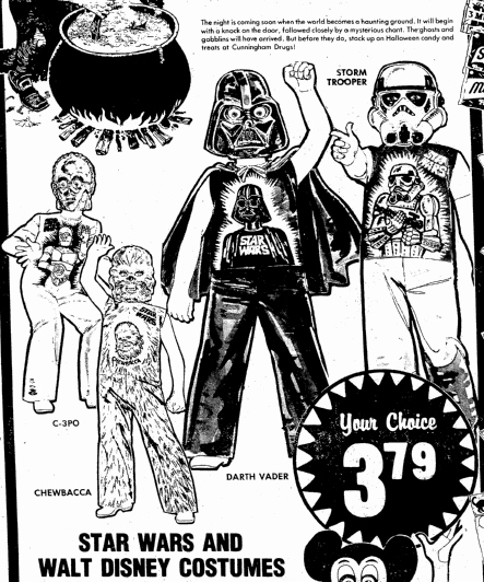 64cce5a5f The Great Star Wars Halloween Costume Shortage of 1977