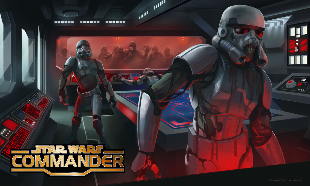 "Star Wars: Commander: Death Troopers in ""The Sickness"""