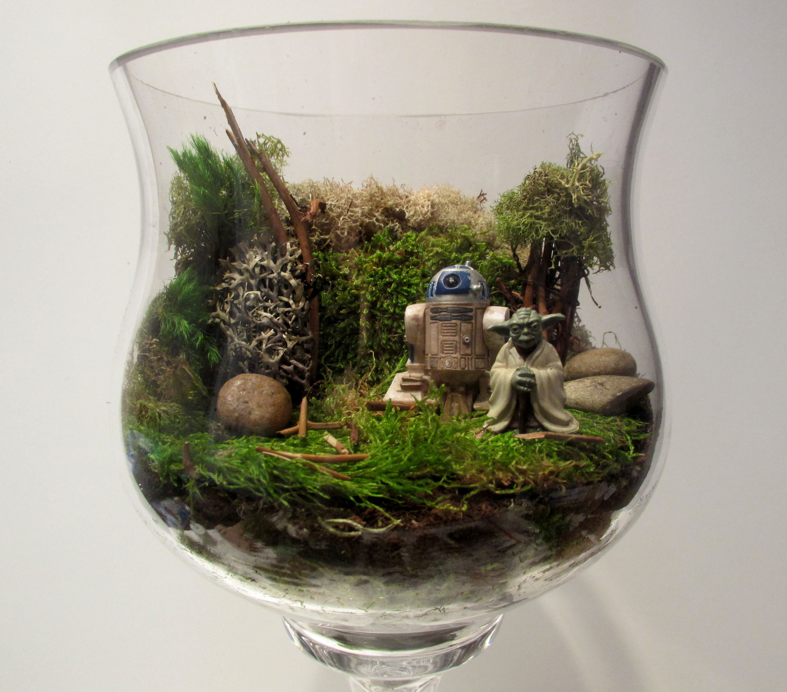Diy Star Wars Terrarium Thanksgiving Centerpiece Starwars Com