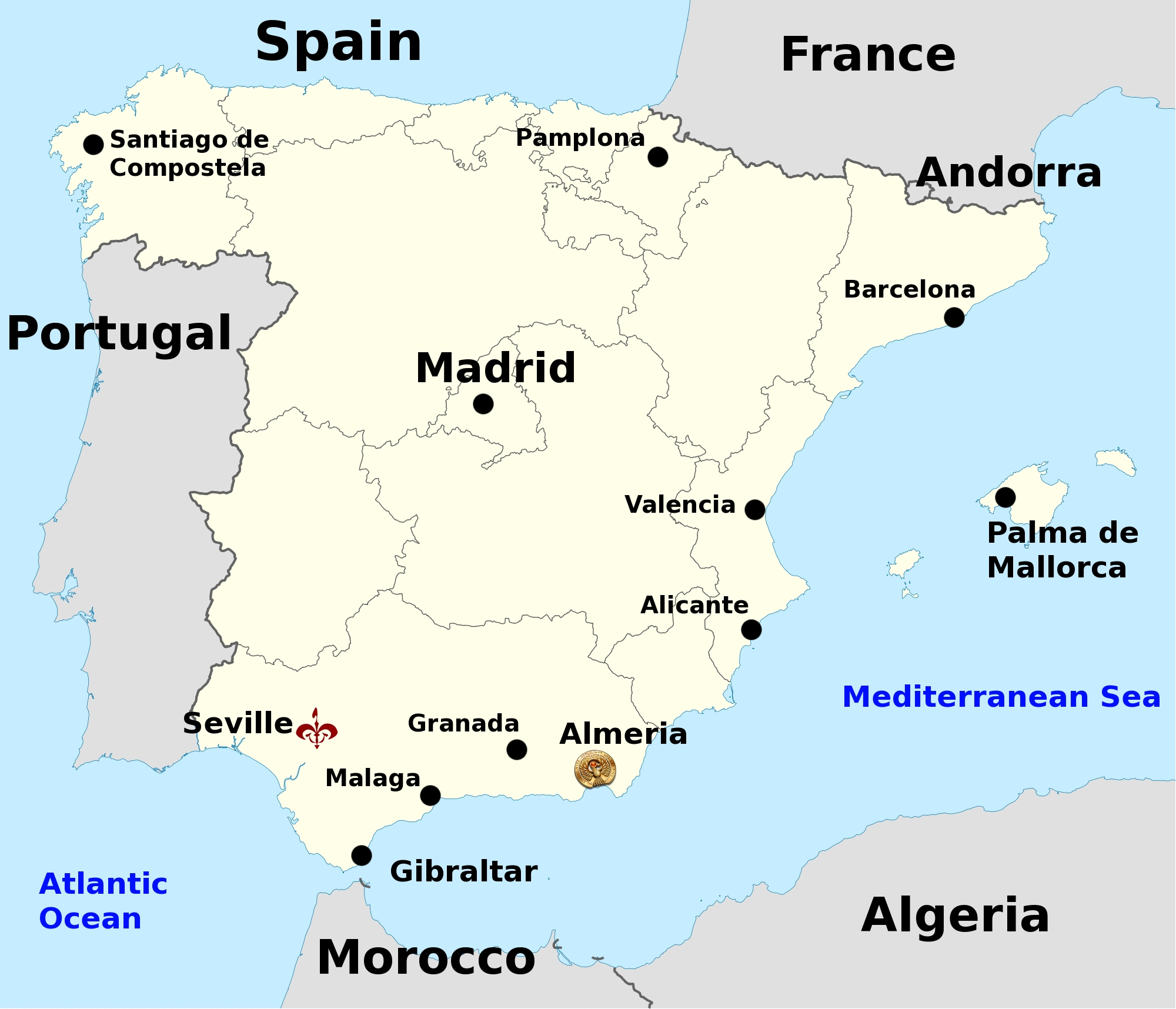 Map Of Spain With Barcelona.Visiting Real World Theed Plaza Starwars Com