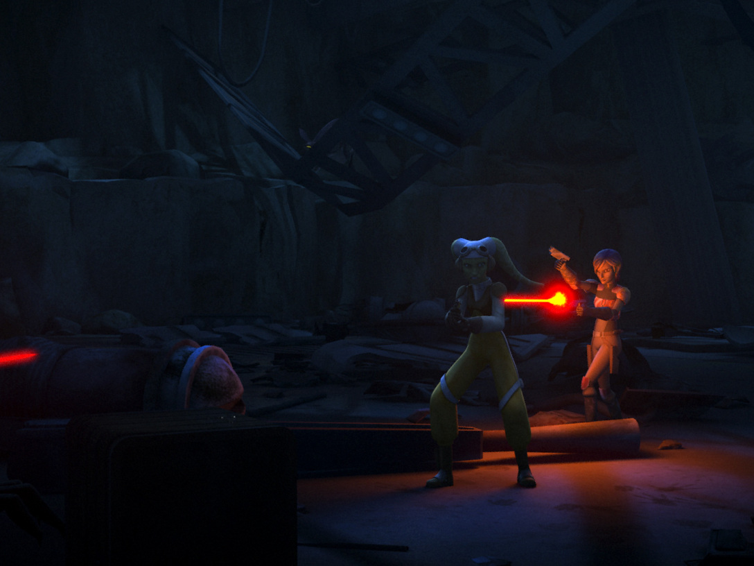 Hera and Sabine Out of Darkness Still