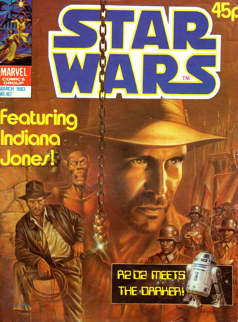 The Star System: Star Wars In The UK: Star Wars Monthly Issues 166