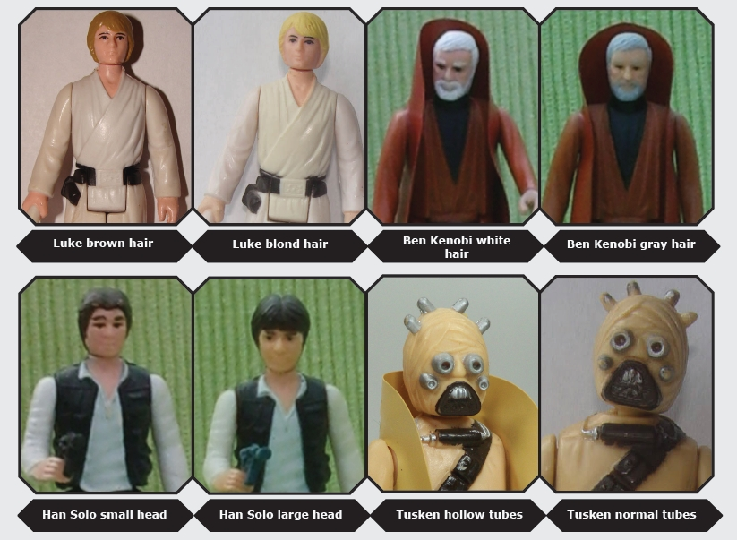 Kenner S Star Wars Toys Variants A Guide Starwars Com