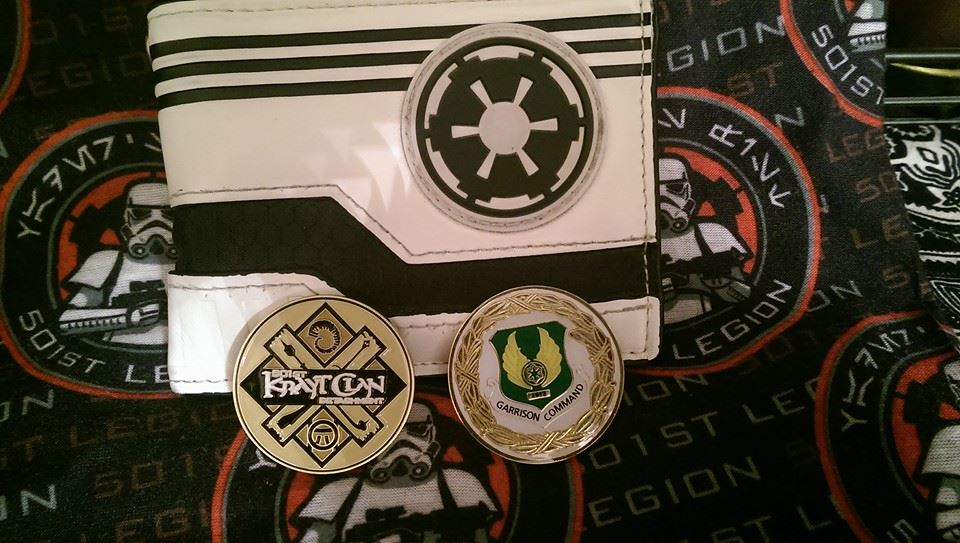 History of the 501st Legion: The Challenge Coin   StarWars com