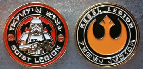 History of the 501st Legion: The Challenge Coin | StarWars com