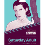 Princess Leia Star Wars Celebration badge