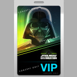 Darth Vader Star Wars Celebration badge