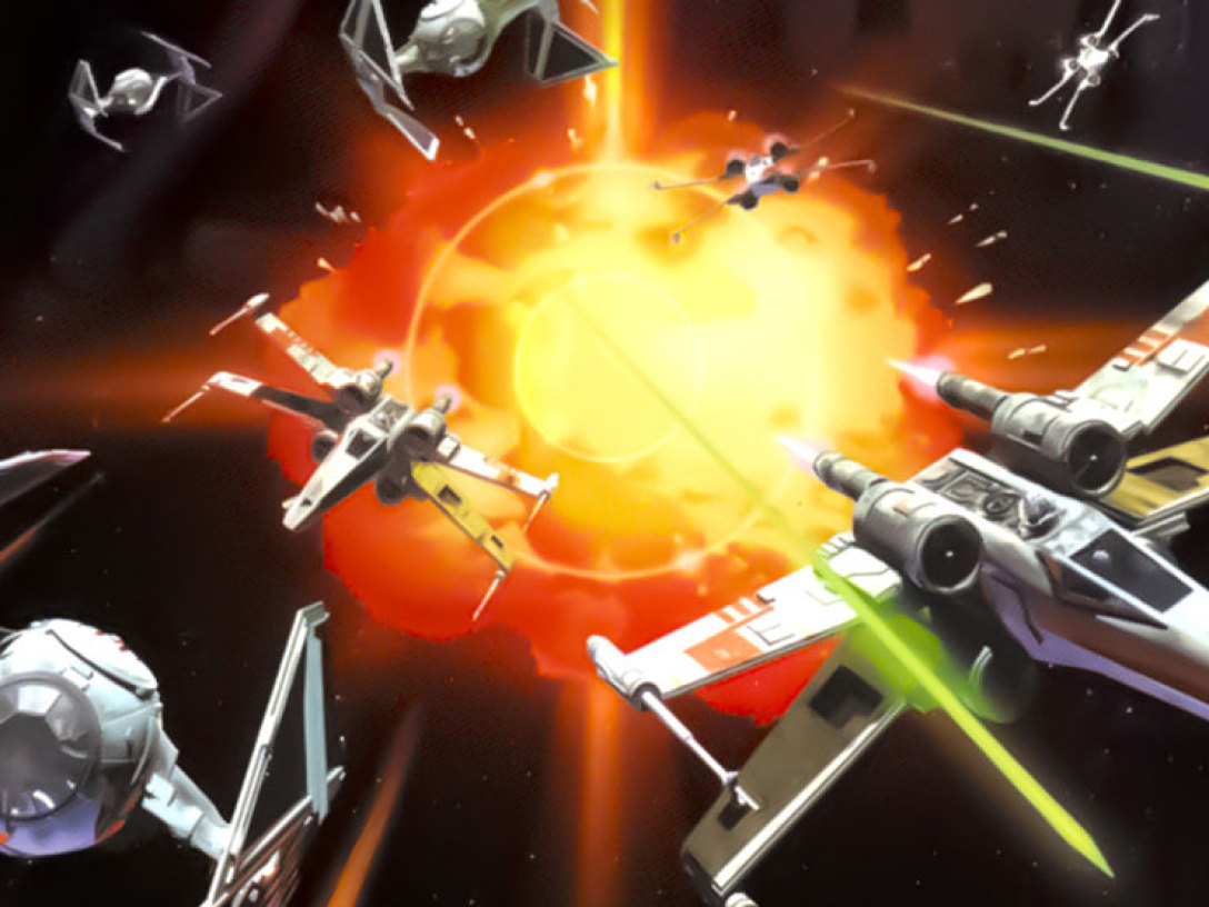 """Cover of """"X-Wing vs TIE Fighter"""" video game"""
