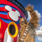 Chewbacca at Star Wars Day at Sea