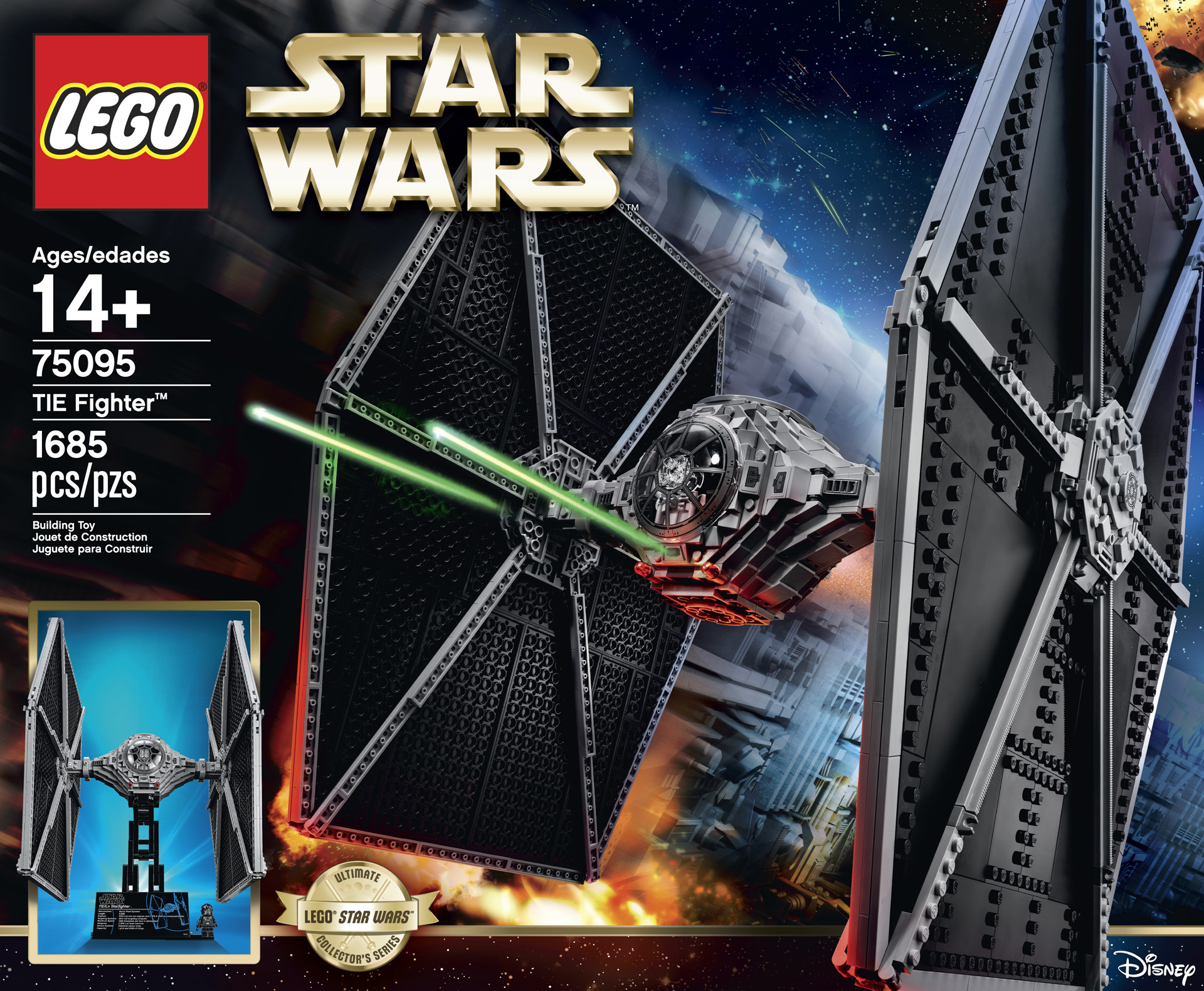 Ultimate collector series lego tie fighter exclusive - Lego star warse ...