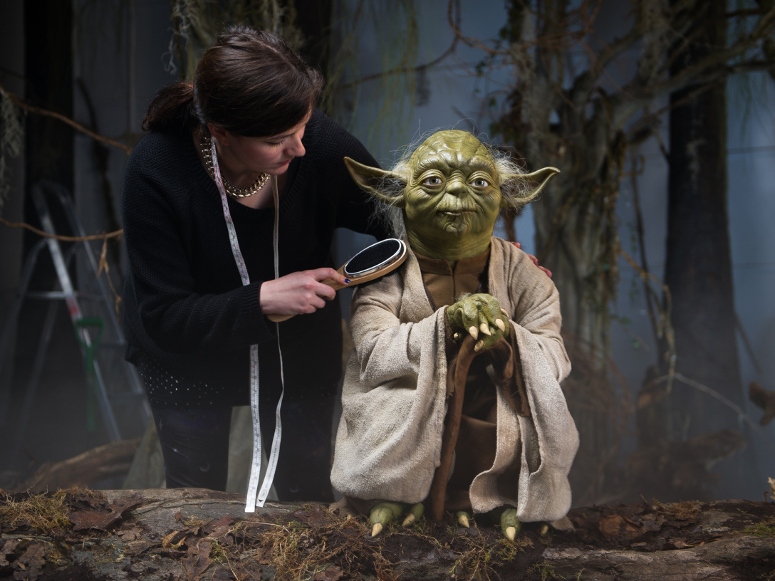 Yoda for Madame Tussauds