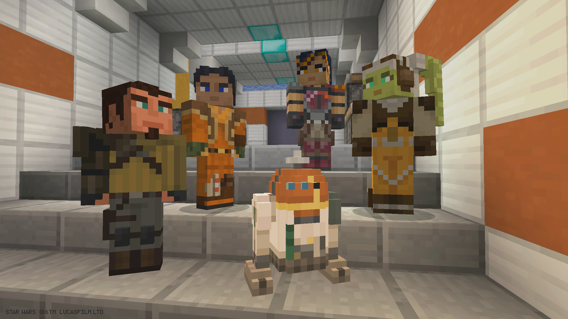 Star Wars Rebels Skin Pack Comes To Minecraft For Xbox Starwars Com
