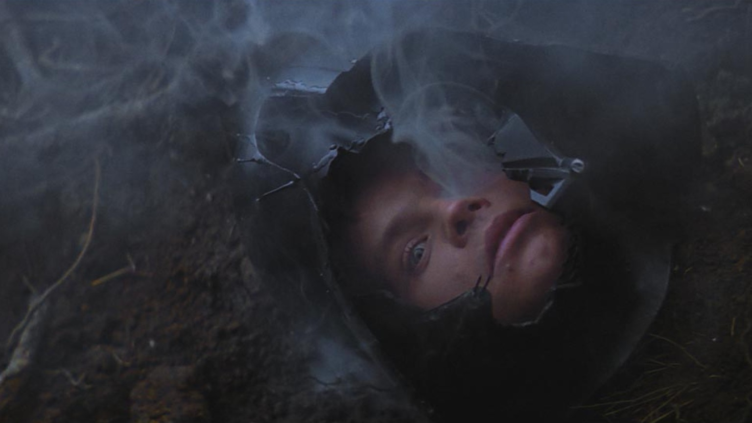 Vader/Luke in the Dagobah cave