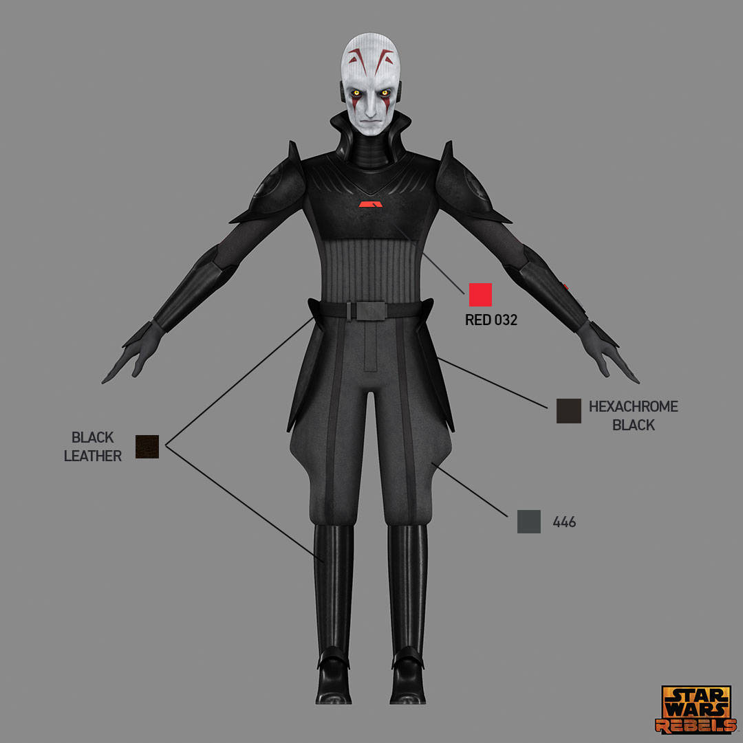Star Wars Rebels Costume Color Guide For Imperials Starwars Com