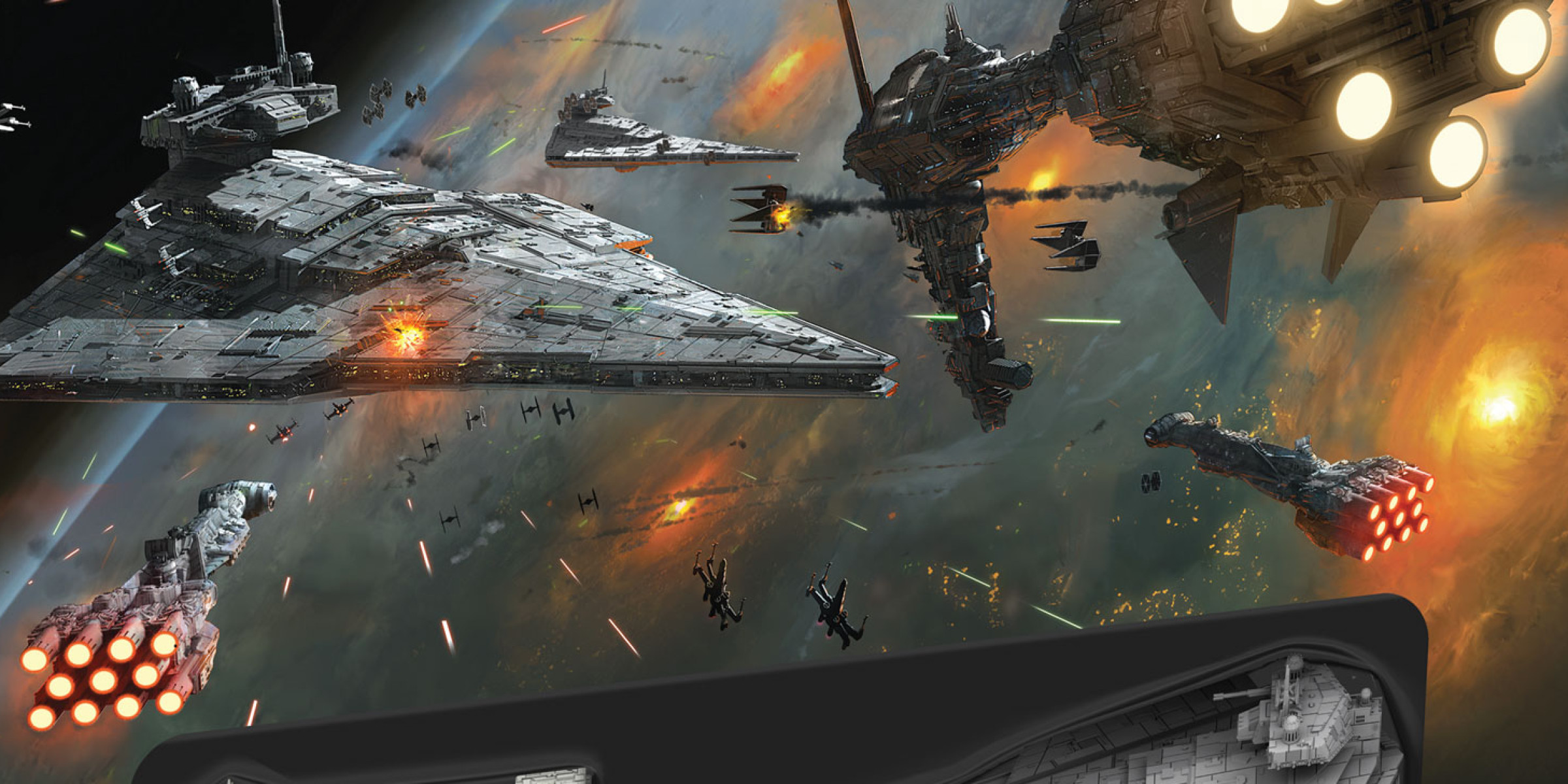 Star Wars Armada by Fantasy Flight Games