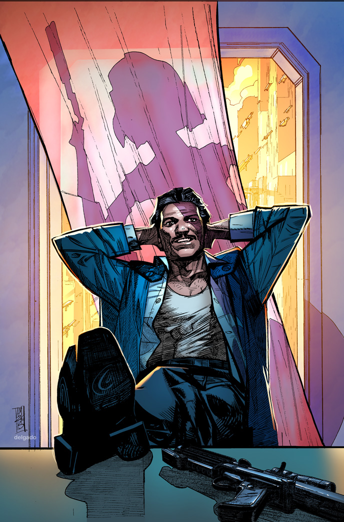 Lando #1 cover by Alex Maleev