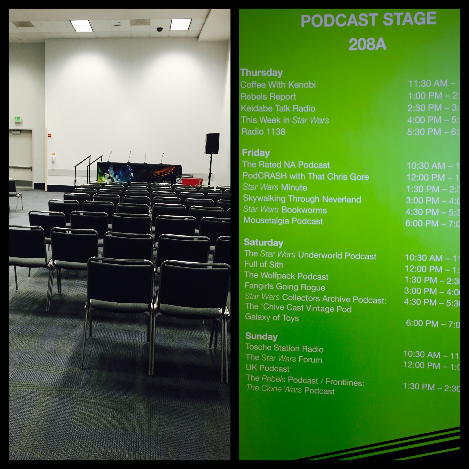 Inside Celebration Anaheim's Podcast Stage | StarWars com