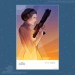 """The Rebel"" - Princess Leia Lithograph by Craig Drake - 100 pieces"