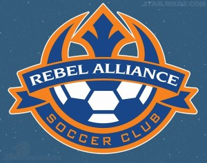 Star Wars Celebration 2015 - Rebel Alliance Soccer Club Patch