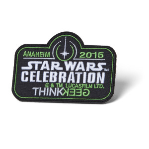 Limited-edition Star Wars Celebration Patch with purchase of Con Bag of Holding