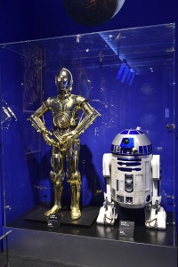 Star Wars Visions - R2-D2 and C-3PO props