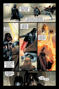 Darth Vader #6 - Vader in battle