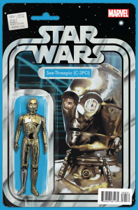 Star Wars #5 C-3PO cover