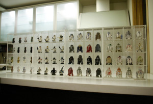 Cho Woong - Star Wars collection: Astromech droids and Stormtrooper collectibles