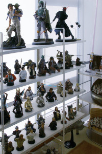 Cho Woong - Star Wars collection: Star Wars props and collectibles
