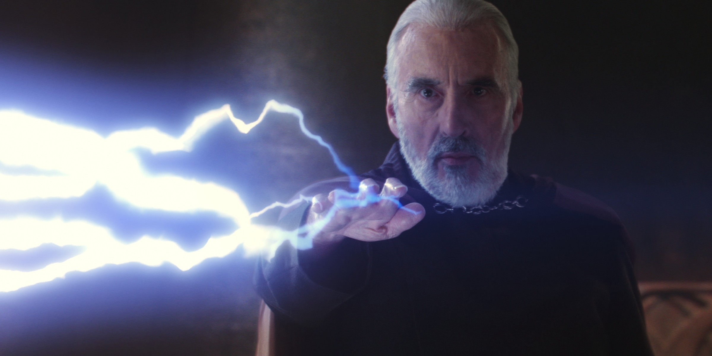 Count Dooku during his climactic battle with Yoda