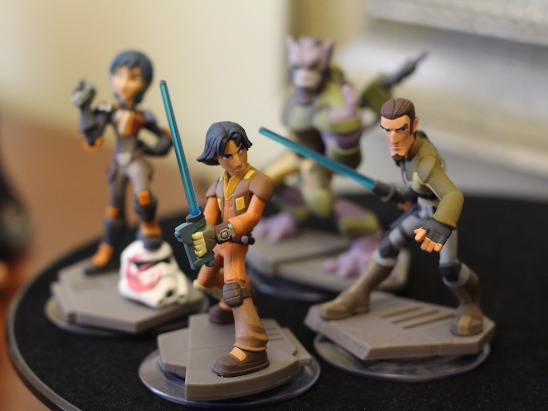 Disney Infinity 3.0 Edition Star Wars Rebels characters