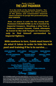 Kanan: The Last Padawan #3 - Opening crawl
