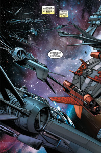 Kanan: The Last Padawan #3 - Caleb Dume evades starfighters