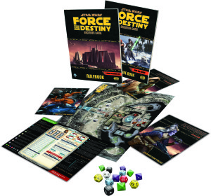 Star Wars Force and Destiny - Game layout