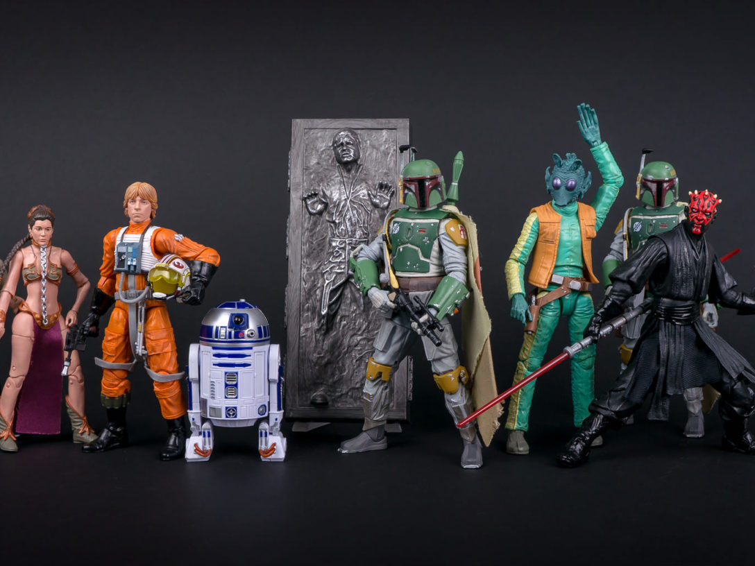 Star Wars: The Black Series figures