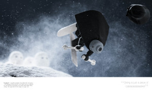 LEGO Star Wars: Small Scenes from a Big Galaxy - skiing trooper