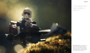 LEGO Star Wars: Small Scenes from a Big Galaxy - speeder bike