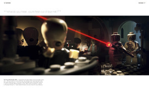LEGO Star Wars: Small Scenes from a Big Galaxy - cantina