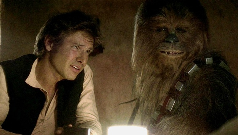 Image result for a new hope han chewie