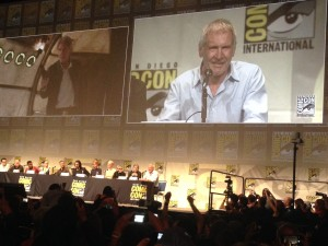 Harrison Ford at San Diego Comic-Con 2015