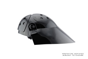 Imperial trooper helmet - side view