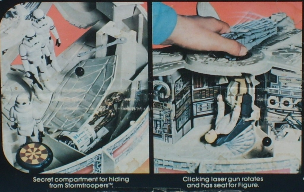Millennium Falcon toy box photo
