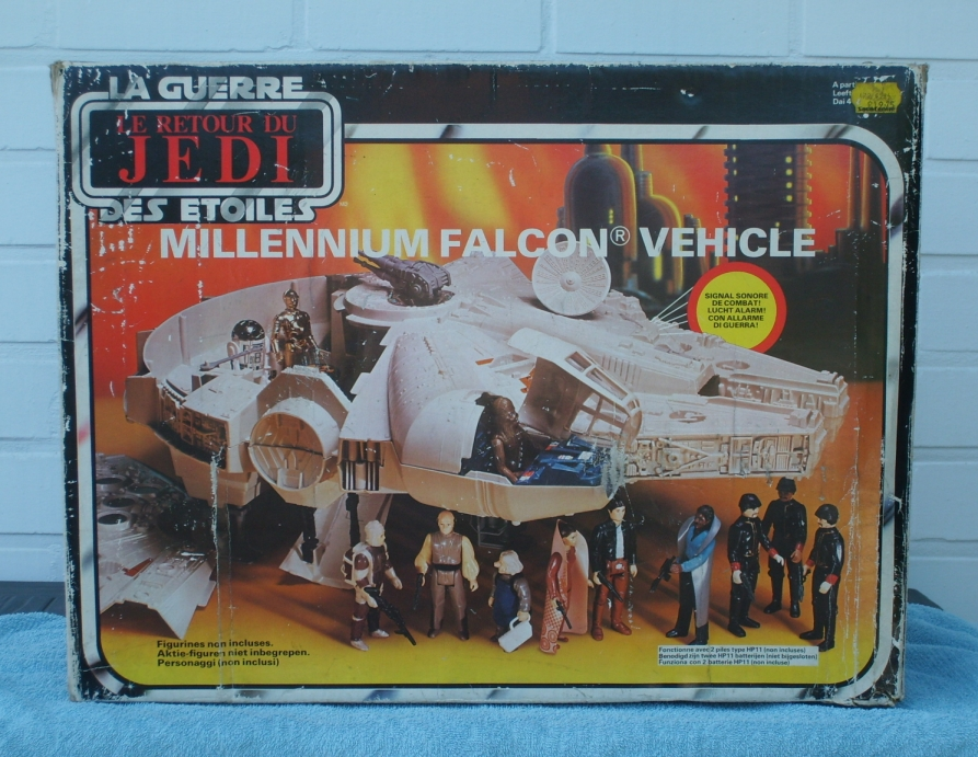 Millennium Falcon toy box