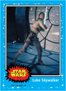 Topps - Luke Skywalker