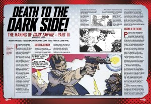 Star Wars Insider - making of Dark Empire