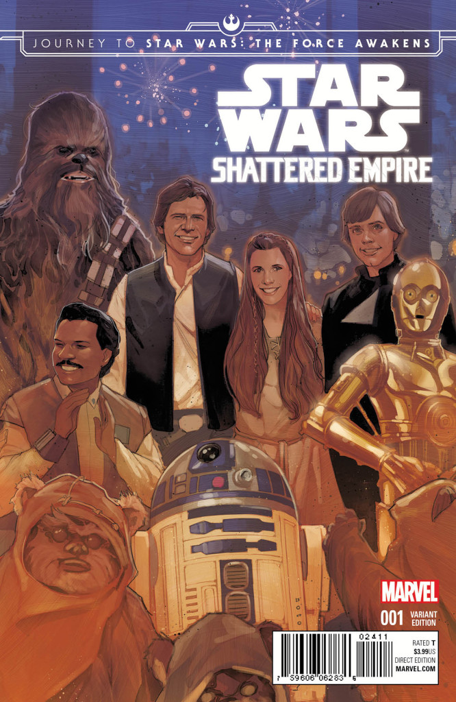 Cover of Marvel's Star Wars: Shattered Empire