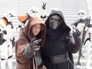 Comic-Con - Anakin Skywalker and Kylo Ren
