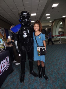Comic-Con - black stormtrooper