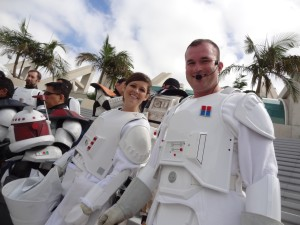 Comic-Con - Imperial troopers